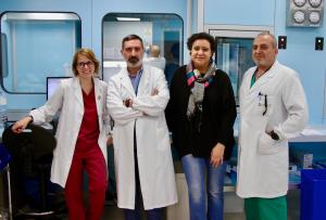 Da sinistra: Germana Marengo, Antonio Testa, Eleonora Starvaggi e Ottavio Lo Cricchio