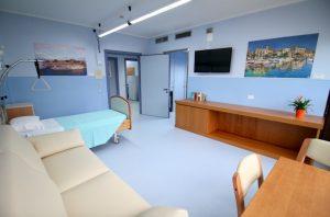 Stanza dell'hospice