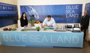 Show-cooking durante Blue Sea Land 2020