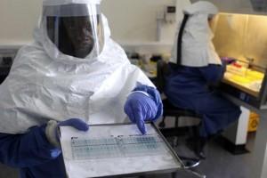 Ebola-laboratorio