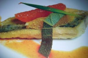 pesce azzurro con agrumi